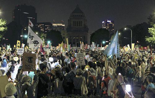 国会前 原発デモ