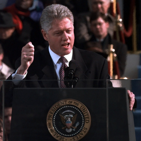 クリントン大統領 演説